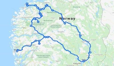 11Google Karte von Ålesund das 10-Tägige Norwegische Highlight-Erlebnis