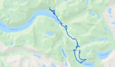 11Google plan du tour Geiranger Privé Mont Dalsnibba et la Route des Aigles